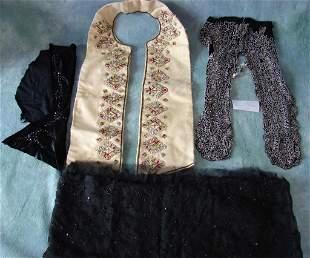 Lot of Victorian Dress Parts