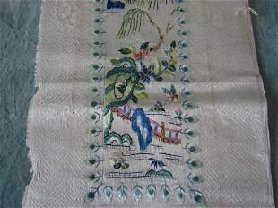 2 Pattern Silk Japanese Panels
