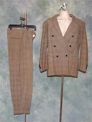 Vintage Mens 1930s Tweed Suit