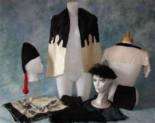 Vintage Purses, Scarves, Hats