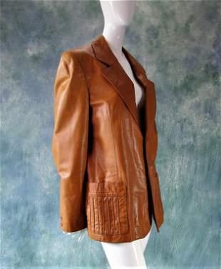 Vintage Leather Jacket, 1970s