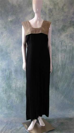1920s Egyptian Revival Gown