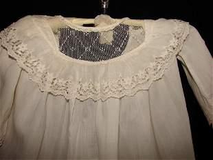 Three Antique Christening Gowns
