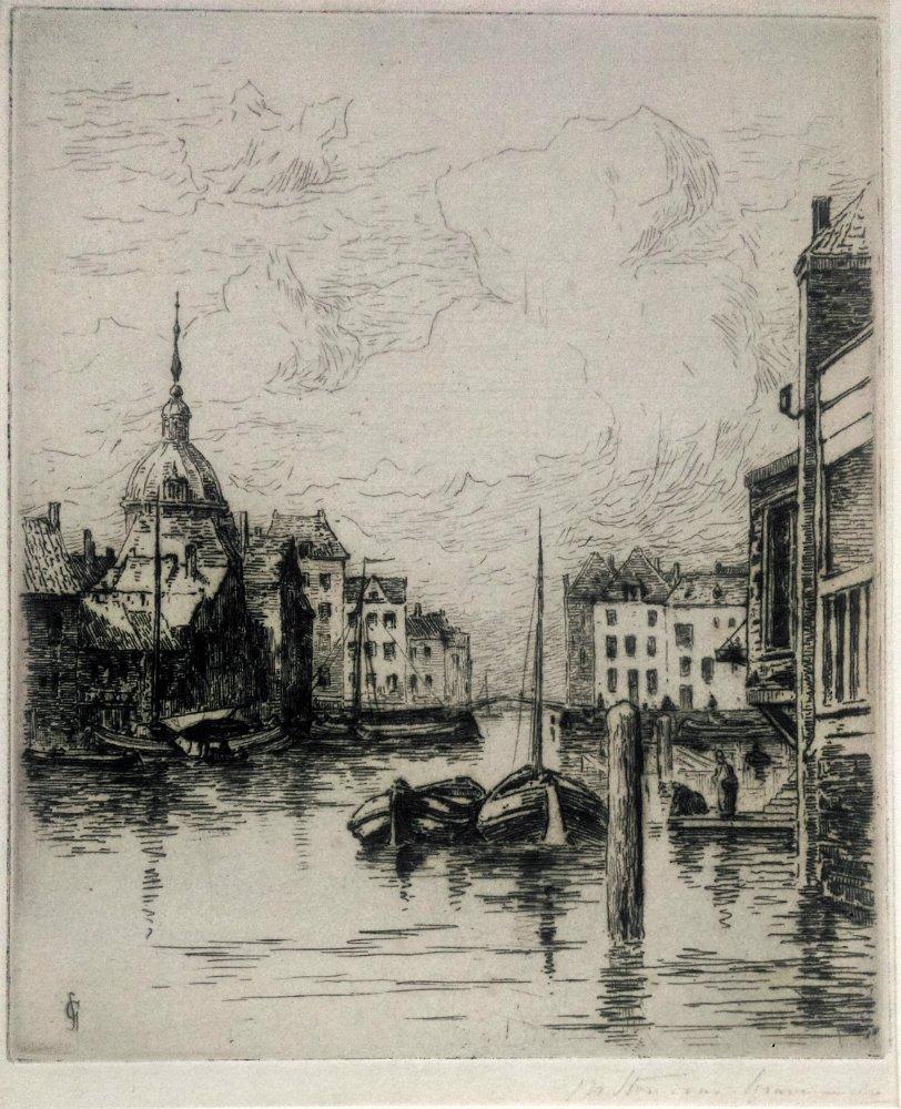 Carel Nicolaas STORM VAN'S GRAVENSANDE (1841-1924)
