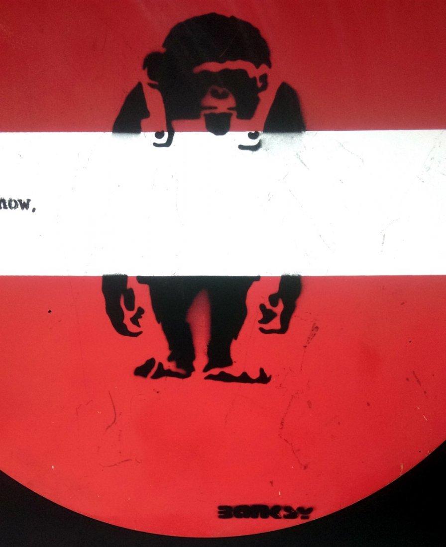 BANKSY, (1974 -*) 班克斯 - 3
