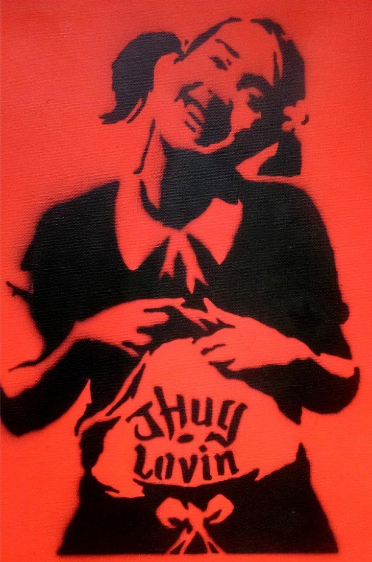 BANKSY, (1974 -*) 班克斯
