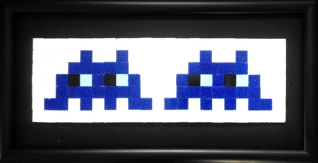 Space invader sculpture - 3