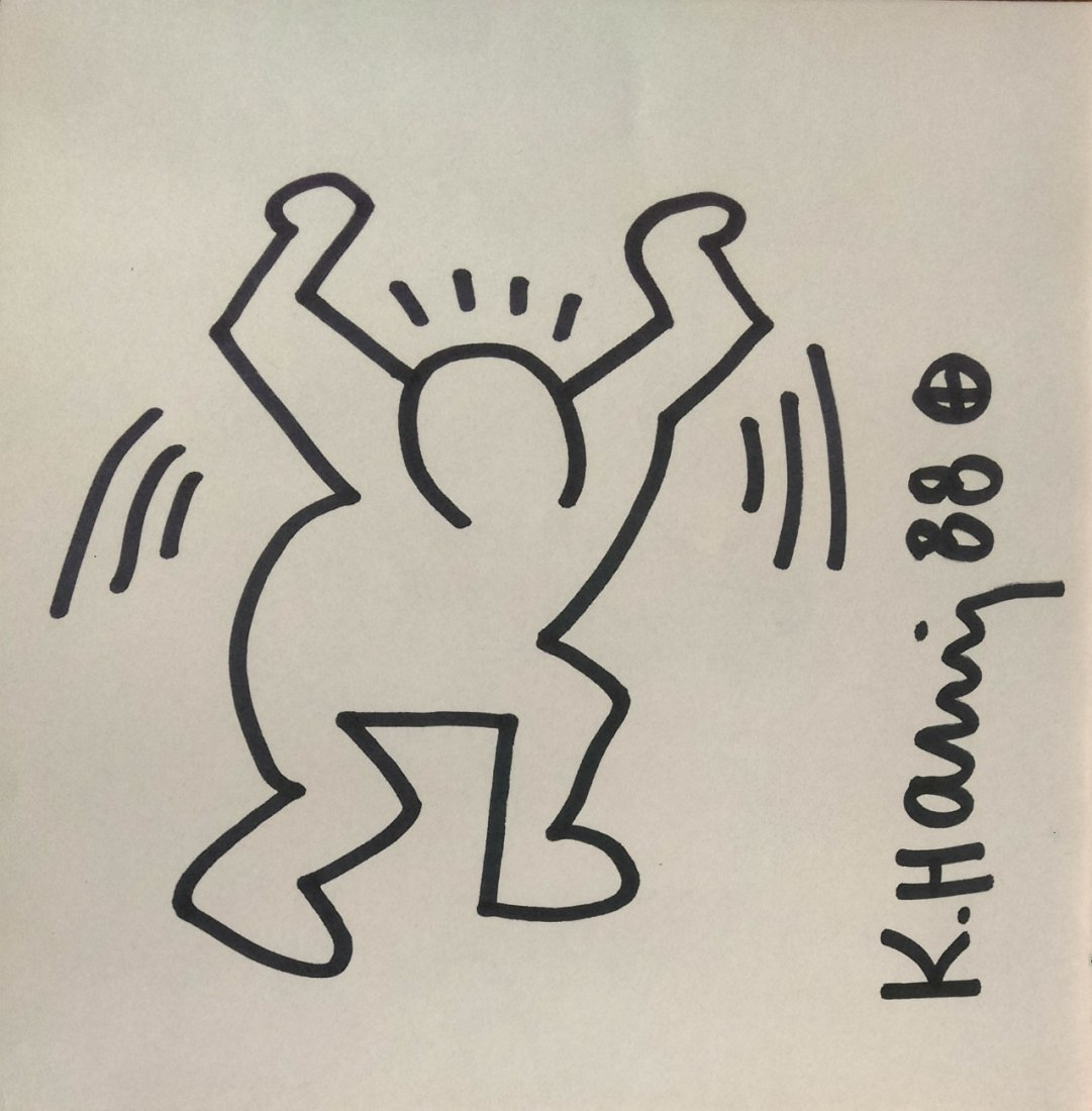 Keith HARING, (1958 - 1990) 凯特•哈
