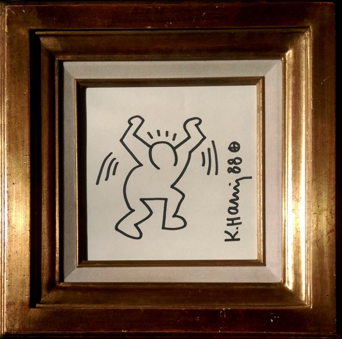 Keith HARING, (1958 - 1990) 凯特•哈 - 2