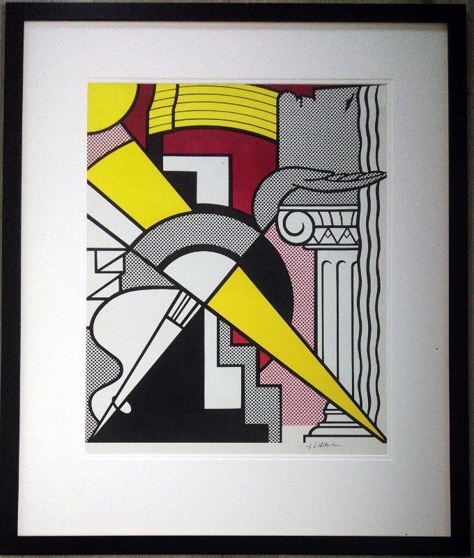 Roy F. Lichtenstein (1923-1997) 罗伊