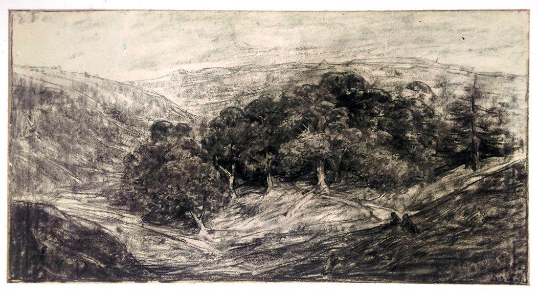 Dirk SCHAFER 1864-1941 Indonesian landscape
