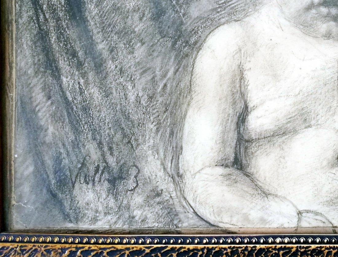 Kathe KOLLWITZ 1867-1945 - Charcoal drawing - 3