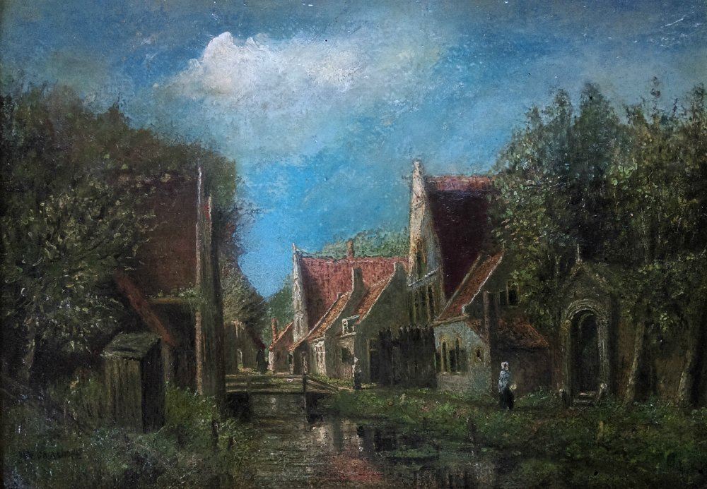 Henri VAN DAALHOFF 1867 -1953 - Dutch painting