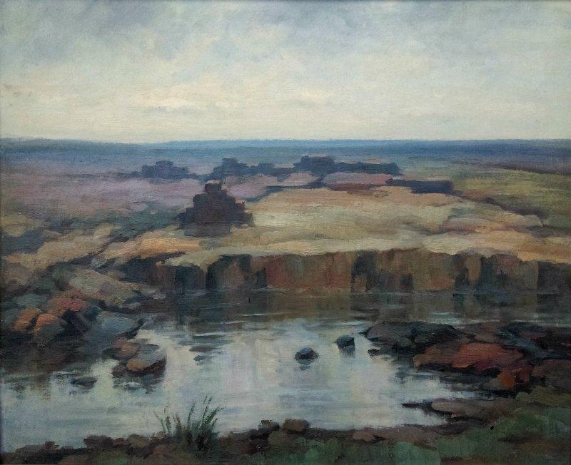 Hermann CORRODI 1844-1905 - Antique painting Greek Ruin