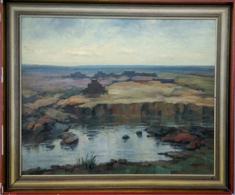 Hermann CORRODI 1844-1905 - Antique painting Greek Ruin - 2