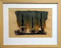 Unknown artist - Abstract composition (2)