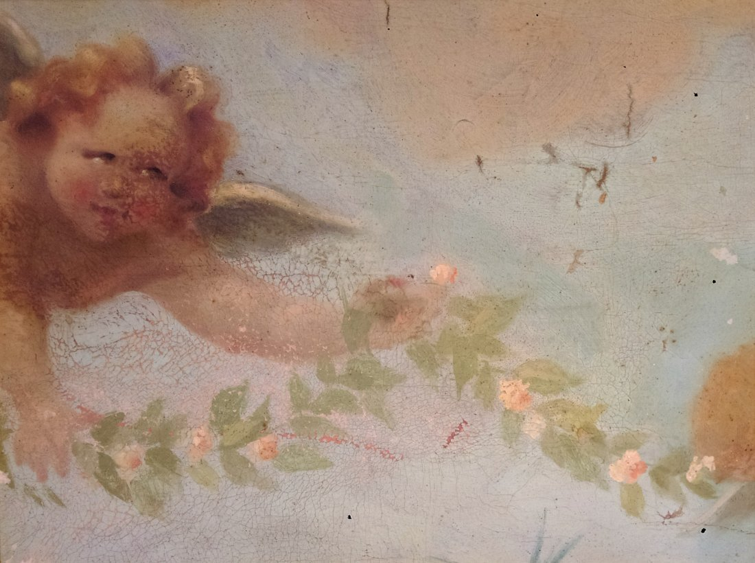 Anonymous artist 18th/19th Century -Painting of a angel