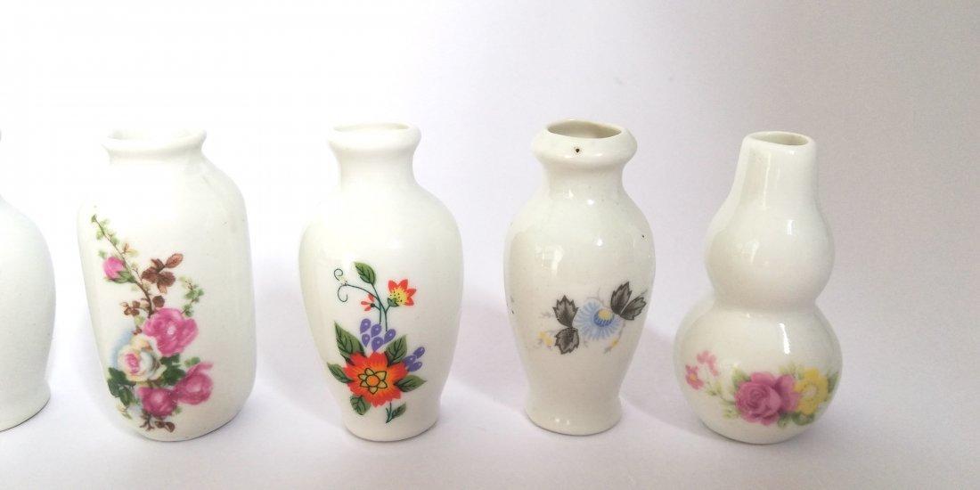 Lot antique miniature vases - 2