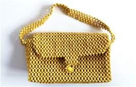 Czechoslovakia 1930s beads purse