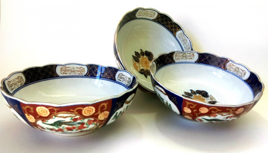 Chinese porcelain bowls (3)