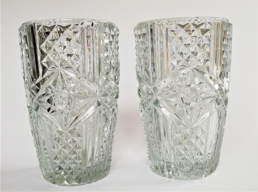 Jiri REPASEK (1927-) A pair of vases, 1970