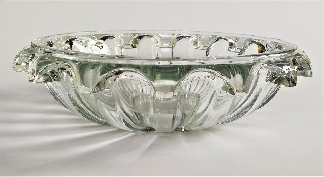 1930 Art Deco Rudolfova Hut, large bowl
