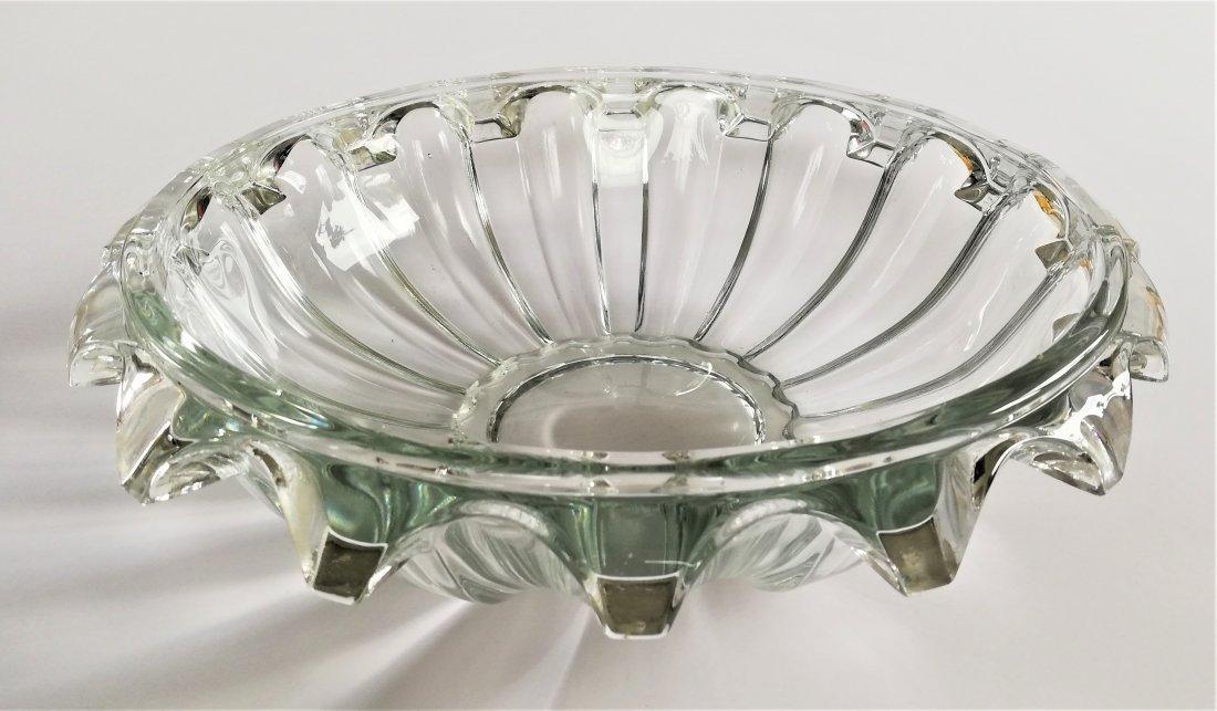 1930 Art Deco Rudolfova Hut, large bowl - 3