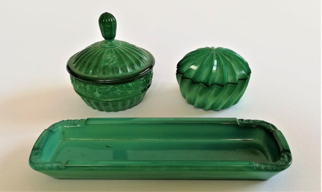 Bohemian Art Deco Hoffmann vanity set