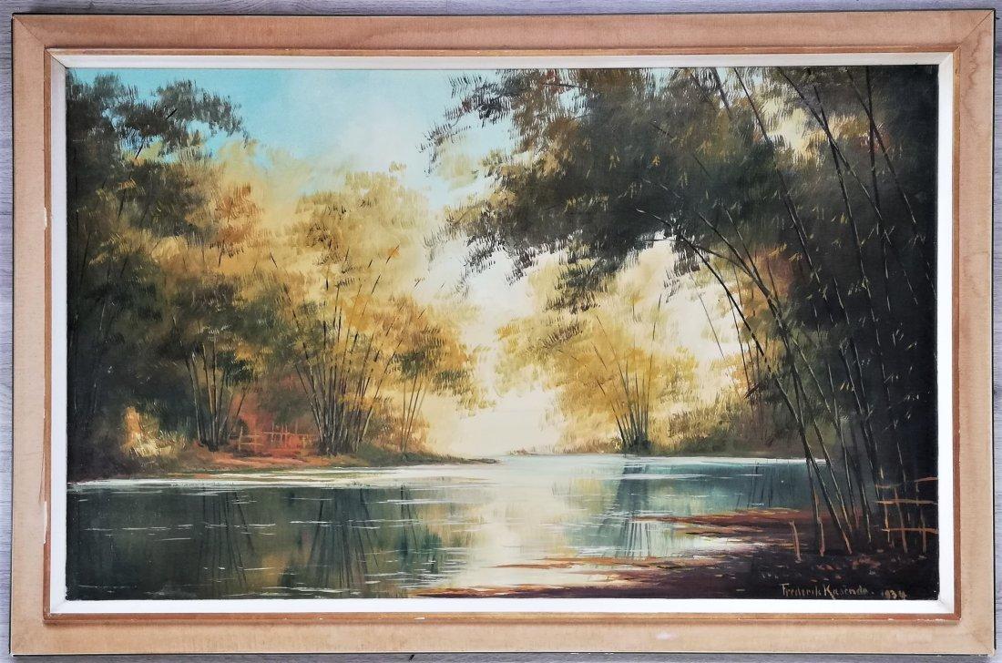 Frederik KASENDA (1920-1950) River, Indonesia 1934