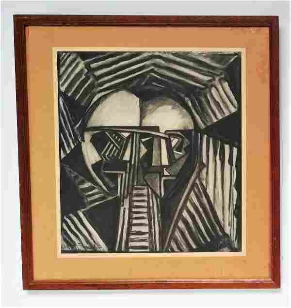 Unknown Artist Cubist composition