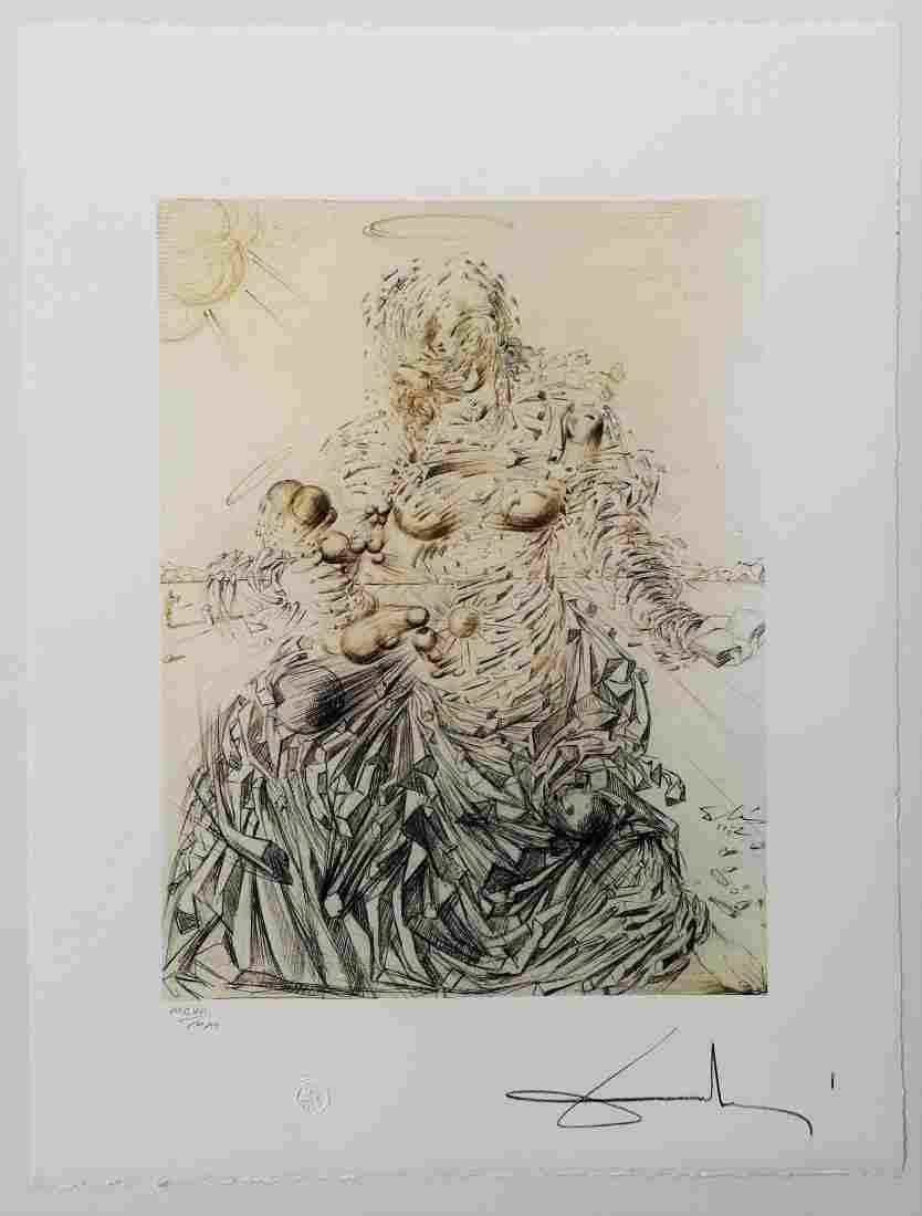 Salvador DALI (1904-1989)  - Engraving