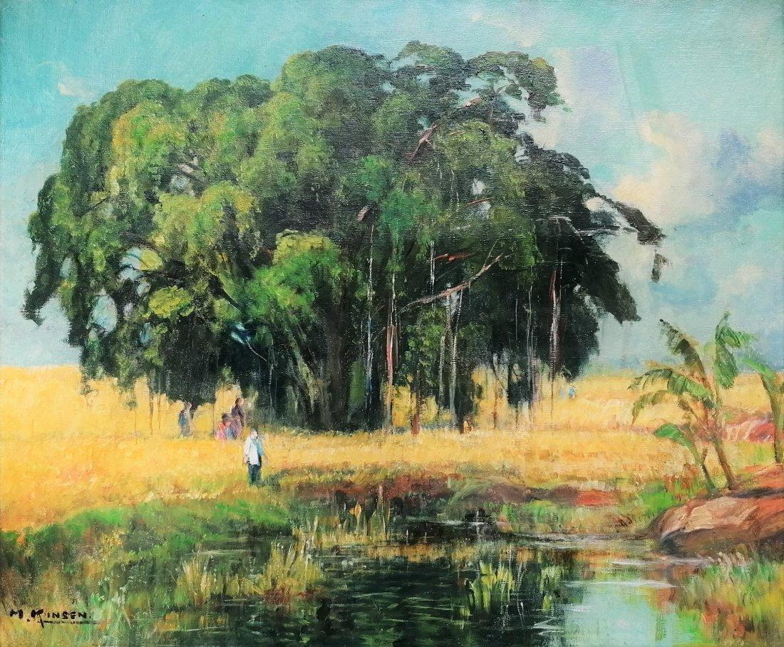 Kichigoro Mori KINSEN (1888-1959) - Oil painting