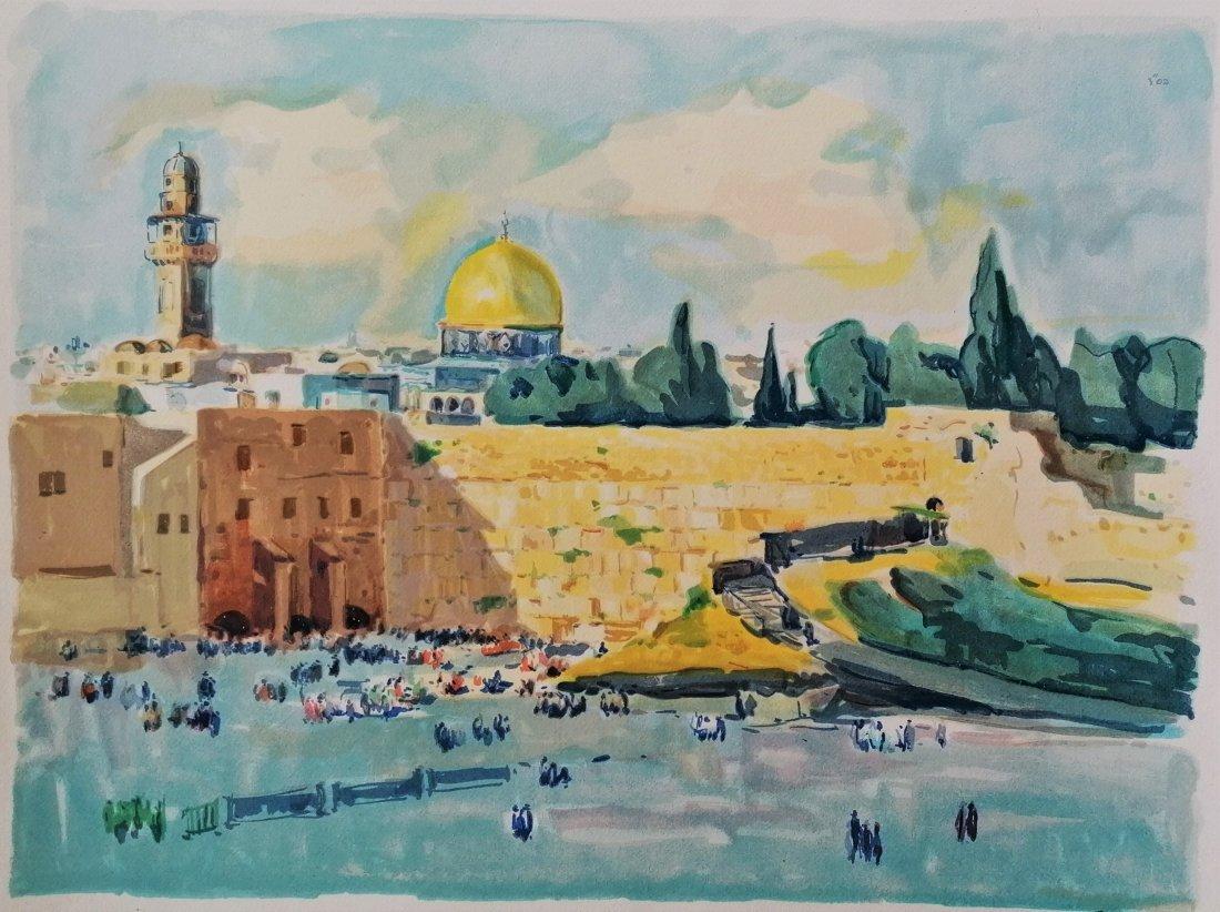 Unknown artist  - View on Jerusalem