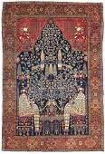 A PERSIAN SAROUK FARAHAN RUG, LATE 19TH CENTURY