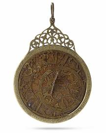 A PLANISPHERIC ASTROLABE LATER ATTRIBUTION TO MUHAMMAD