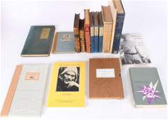 15 Volumes of 18th -19th C Poetry