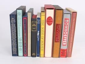 Ten Folio Books
