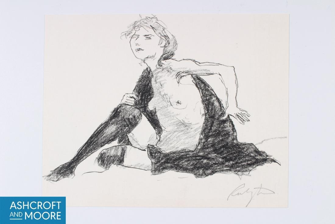 Norman Rubington (American, 1921-1991) Figural Study