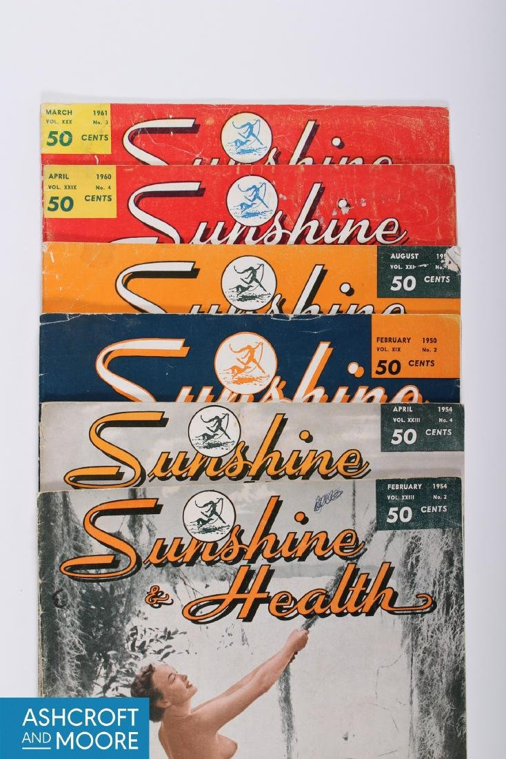Vintage Partial 3 Decade Run of Health and Sunshine - 6