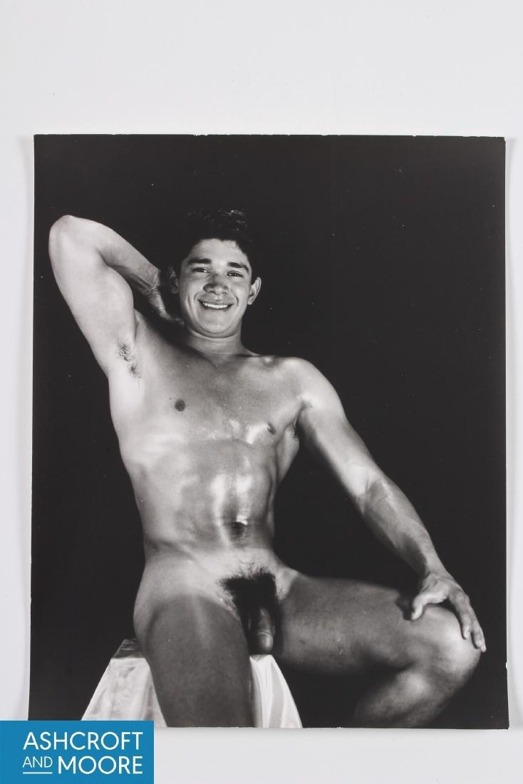 Original Dave Martin of San Francisco Nude Photograph