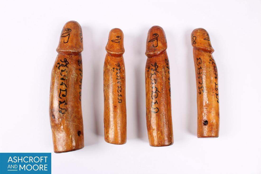 4 Thai Palad Khik Amulets
