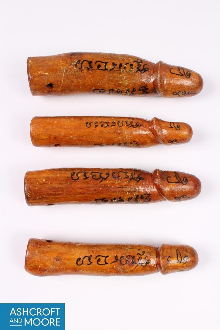 4 Thai Palad Khik Amulets - 2