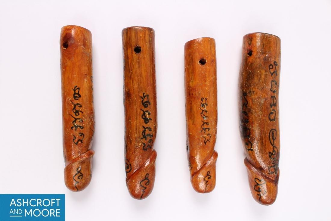 4 Thai Palad Khik Amulets - 3