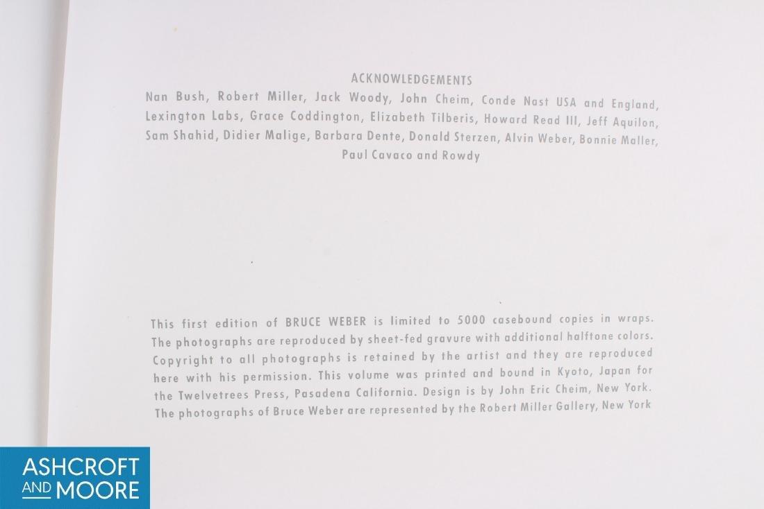 First Edition 1983 Bruce Weber Book - 3