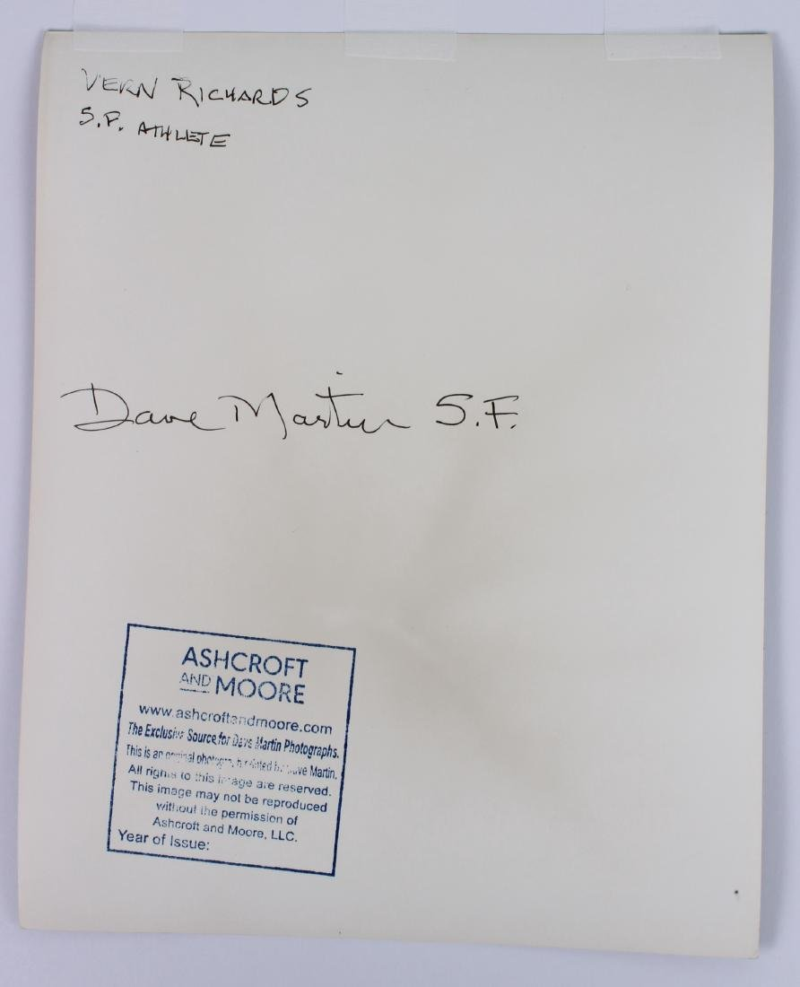Signed Dave Martin of San Francisco Athletic Physique - 2