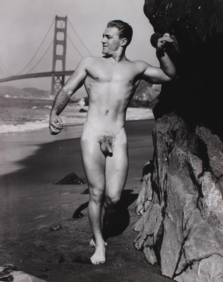 Signed Dave Martin of San Francisco Nude Photograph