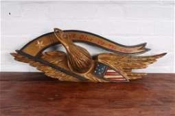 Bellamy Carved Gilt Wood Eagle