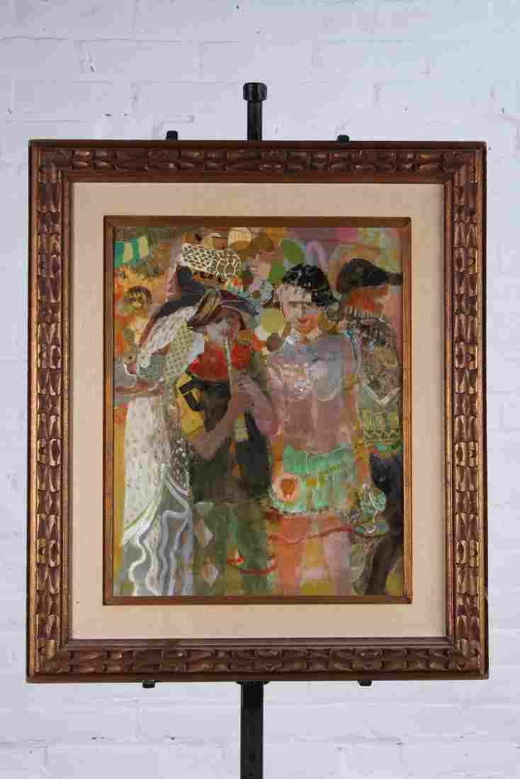Ruth Petlock (American, 20th C) Painting Titled