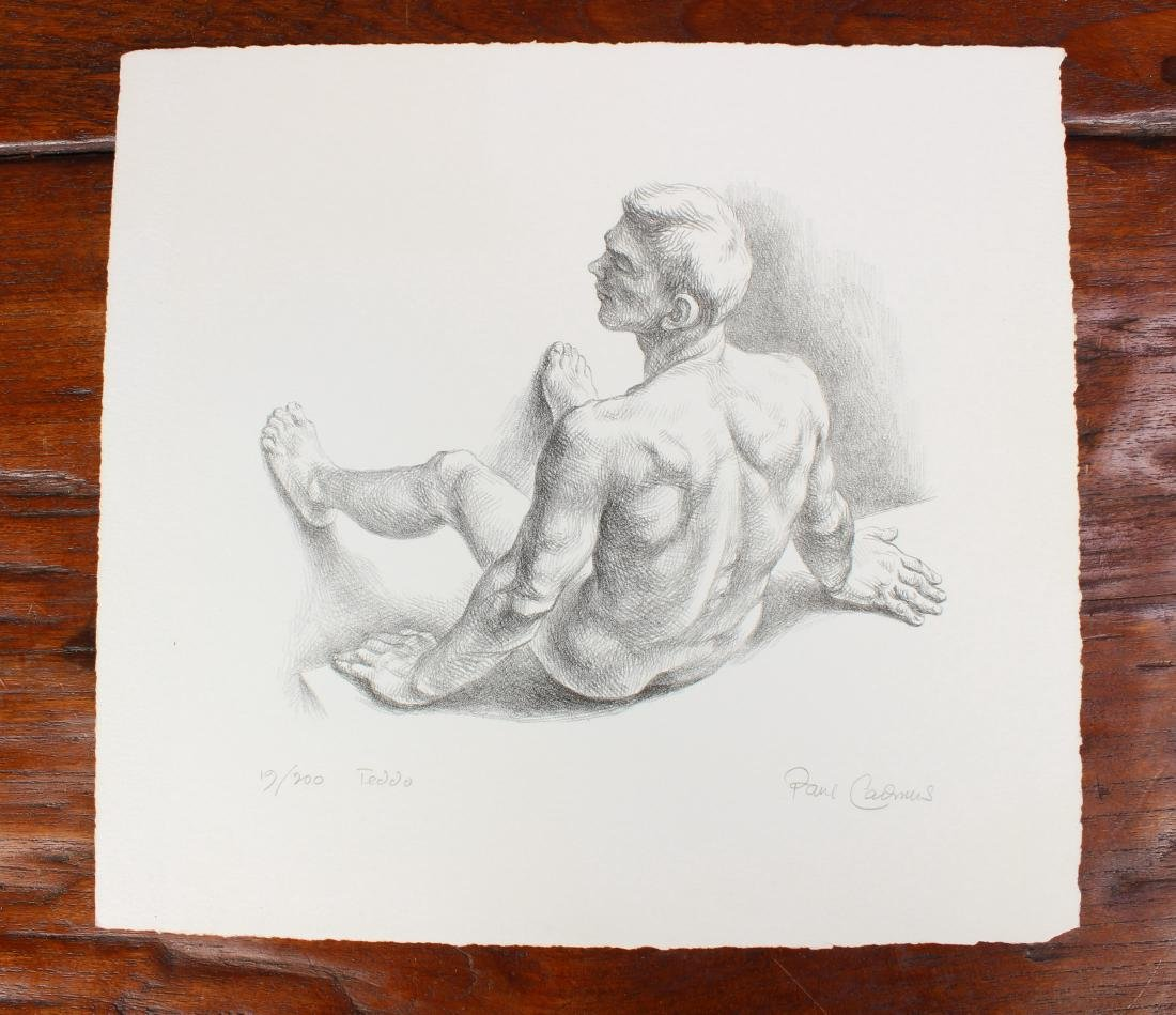 Paul Cadmus Limited Edition Lithograph Titled Teddo