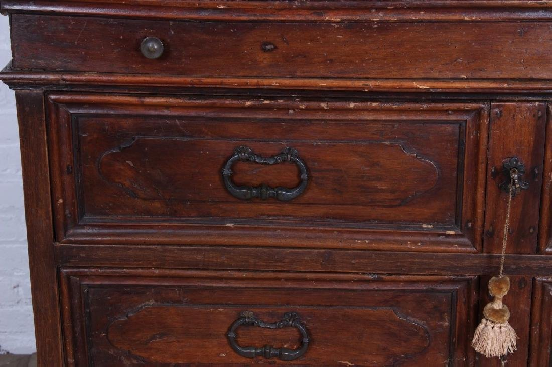 Antique Italian Walnut Commode - 2